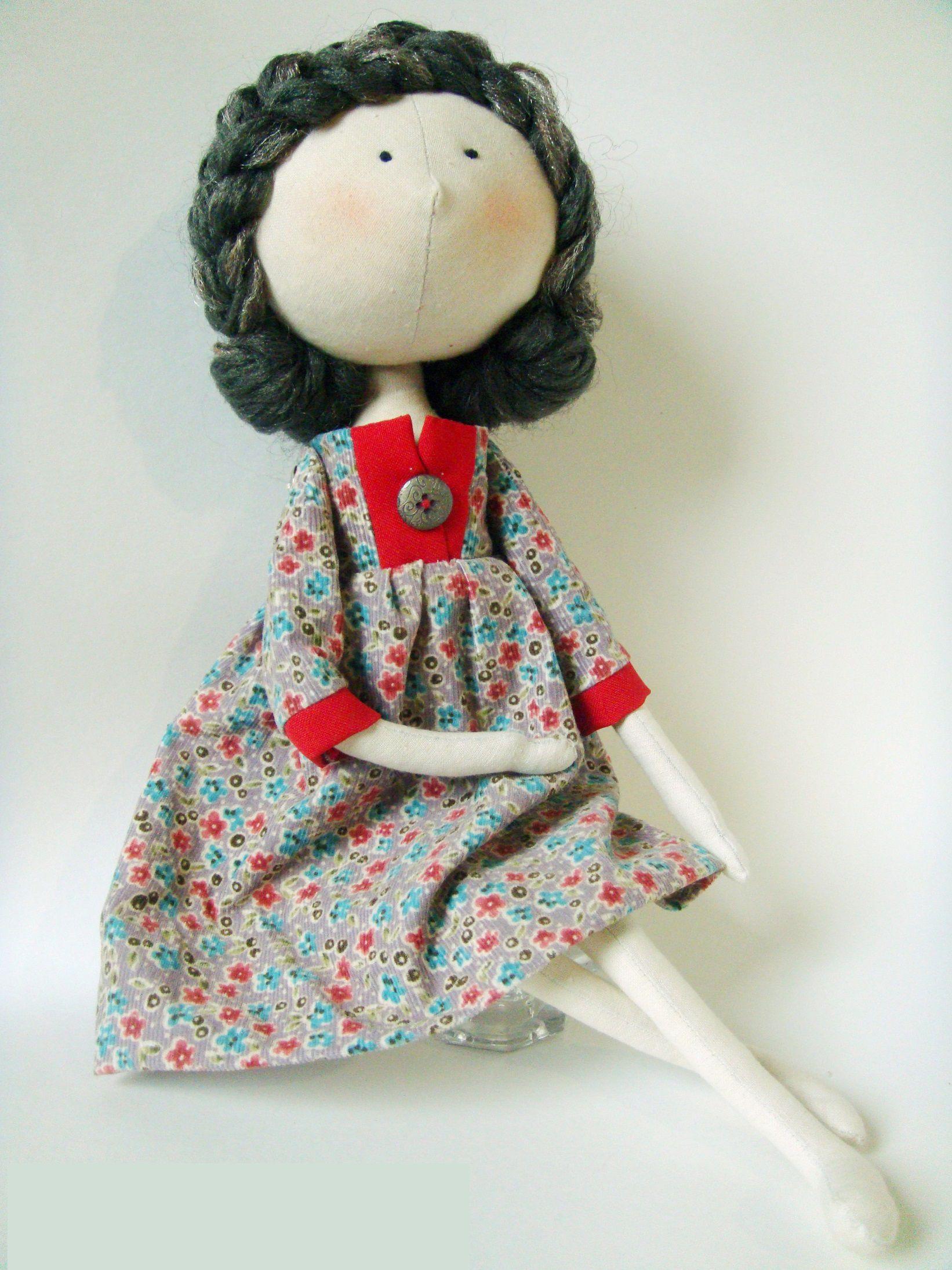 именины день рождения свадьбу подарок кукла купить на handmade текстильные авторские куклу тыквоголовка девушке куклы девочке
