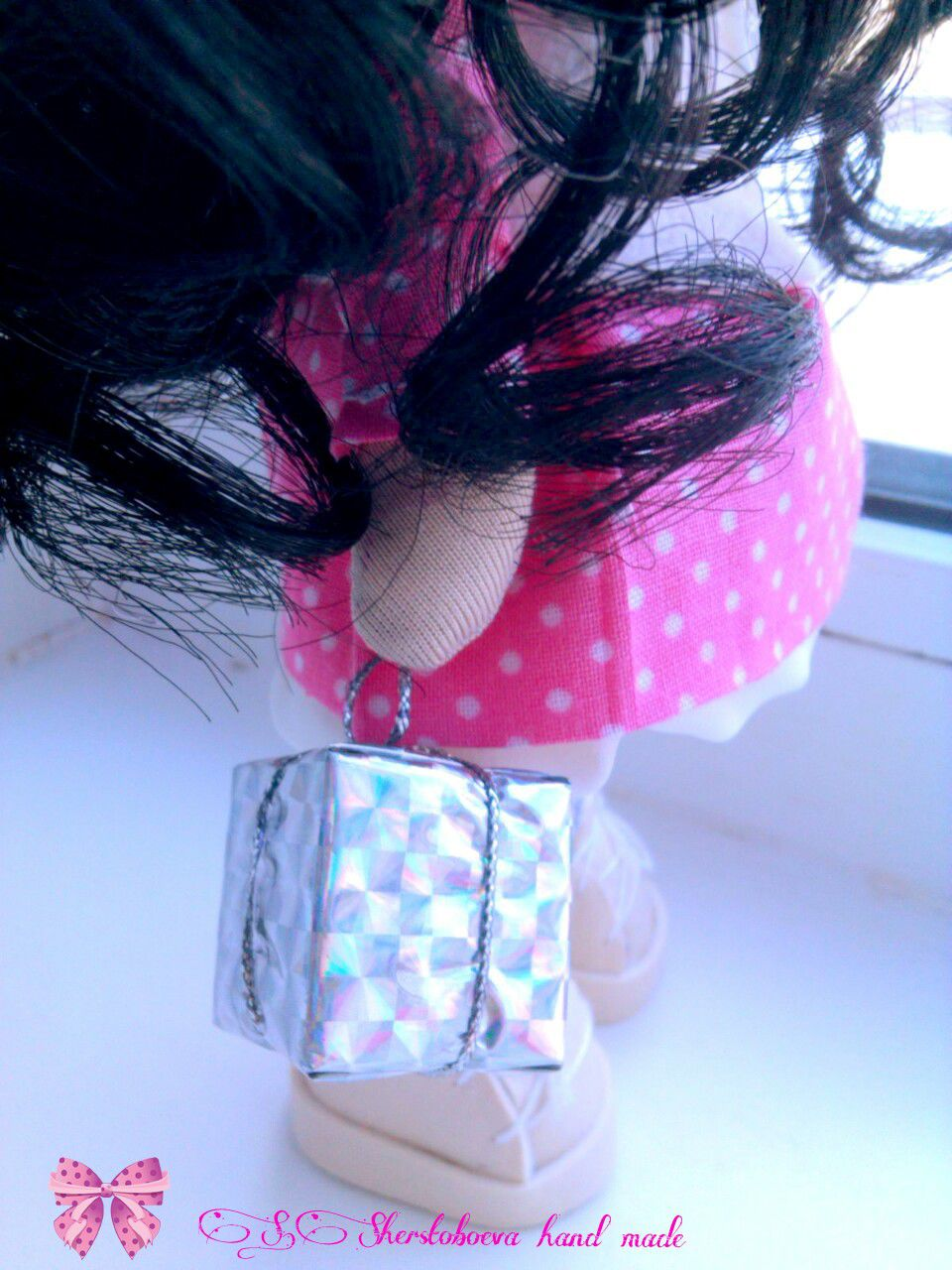 работы ручной кукла интерьерная hand made