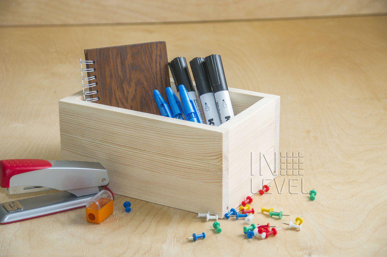 подставка для_офиса канцелярия канцелярский из_дерева офисная деревянный органайзер дерево офисный