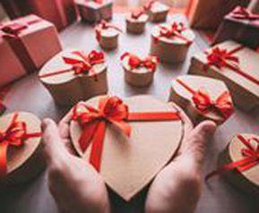 Подарок на день Святого Валентина (14 февраля) для неё