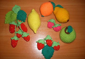 фрукты, ягоды