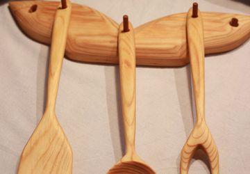 Набор для кухни деревянный.