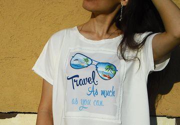 футболка женская от Julia Cat