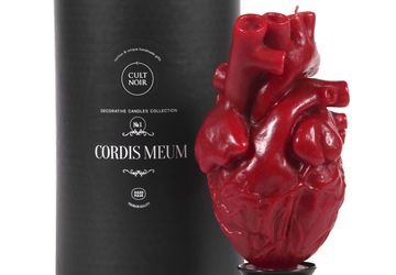 Свеча декоративная Cordis Meum на подставке