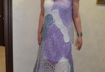 Платье СИРЕНЕВЫЙ ТУМАН