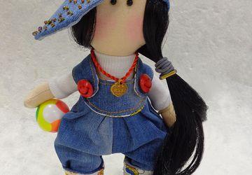 """Интерьерная кукла """"Озорница"""""""