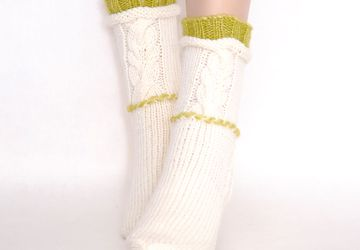 Носки- домашняя обувь