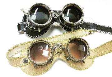 Гогглы,  стимпанк очки