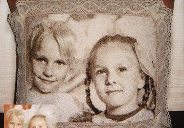 Подушка с портретом