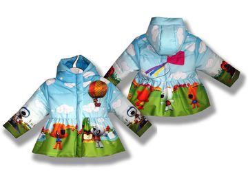 """Куртка-балон """"Мимимишки"""""""