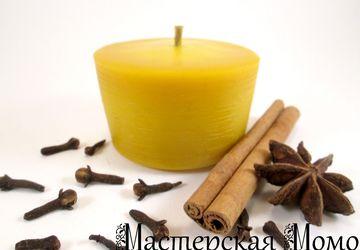 """свеча """"Нежность"""" чайная"""