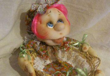 """куколка-корзинка""""Сладушка"""""""