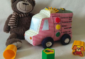 """Мягкая игрушка """"Машинка"""""""