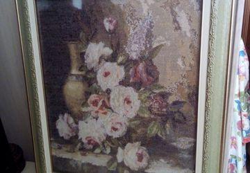 Мраморные розы