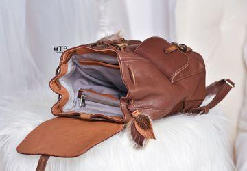 """Рюкзак женский кожаный """"Arlette"""" в стиле бохо"""