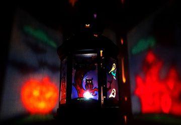 """Фонарик (подсвечник) """"Страшные сказки. Хэллоуин"""""""