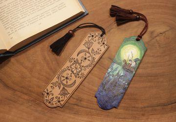 Закладки для книг деревянные