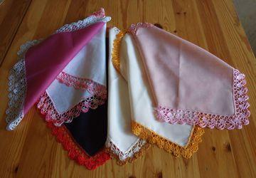 Кружевные носовые платочки