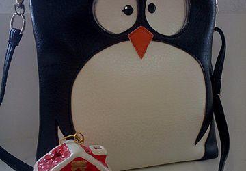 "Сумочка через плечо ""Пингвин"""