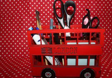 Школьный органайзер Английский автобус