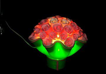 Светильник-букет роз