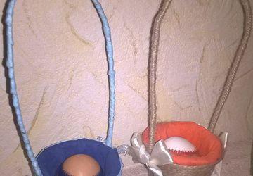 Пасхальная корзинка для яиц