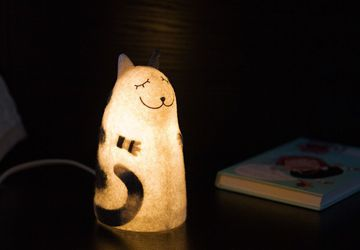 Светильник войлочный Кот Батон