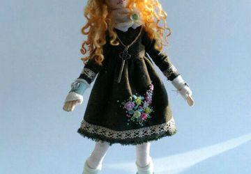 Текстильная кукла. Авторская работа