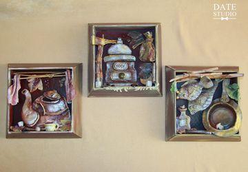 Триптих для кухни