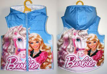 Безрукавка с принтом Барби