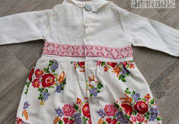 "Платье ""Светелка"" на малышку 62-92"
