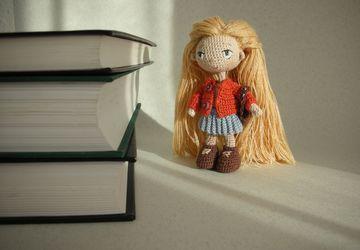 """Авторская миниатюрная кукла """"Эмми"""""""
