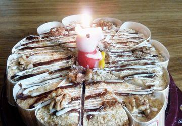 Пеппа свечка для торта.