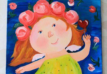 Счастливая девочка (копия Гапчинской)