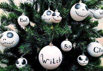 Набор шариков на ёлку Кошмар перед Рождеством