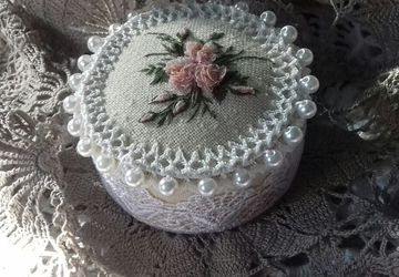 Игольница тортик