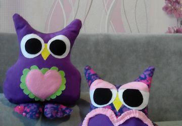 подушка-игрушка Совушки