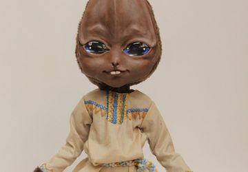 Алёшенька кыштымский карлик. Интерьерная кукла.