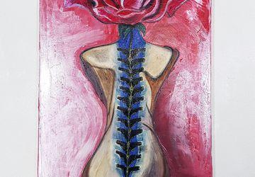 """Картина """"Женщина роза"""" автор A.Knabengof"""