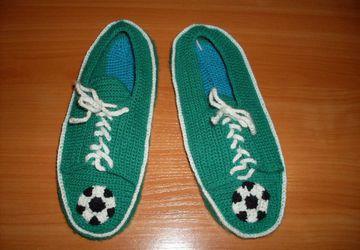 мужские тапочки-кроссовки