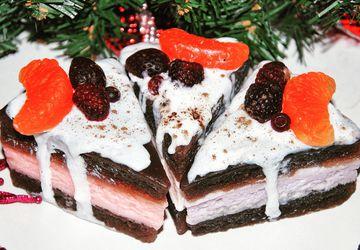 Мыло-тортик