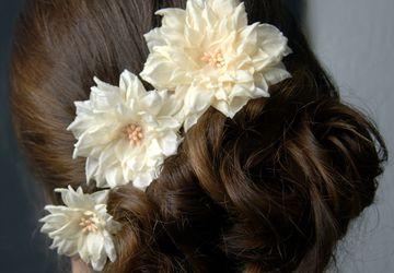 Свадебный набор Нежность (3 заколки для волос)