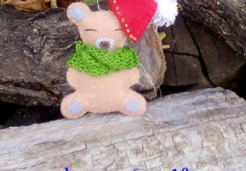 """Медвежонок """" Новогодний"""