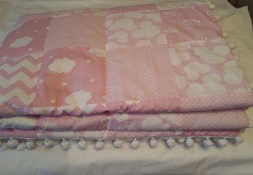 лоскутное одеяло . кокон гнездышко