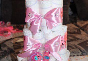 Тортик для девочки )) Красивая вся в маму