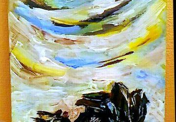 Небо,камни и земля