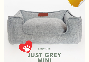 "Лежанка для мокроносов ""Just Grey MINI"""
