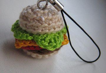 Брелок чизбургер