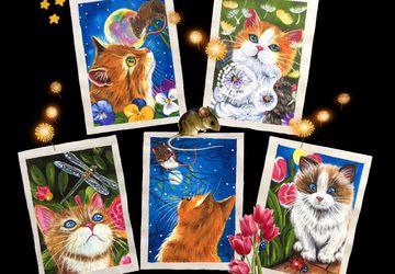 Набор: «Summer Cats»