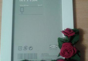 Фото-рамка с розами